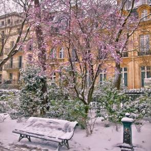 Snow in April, II