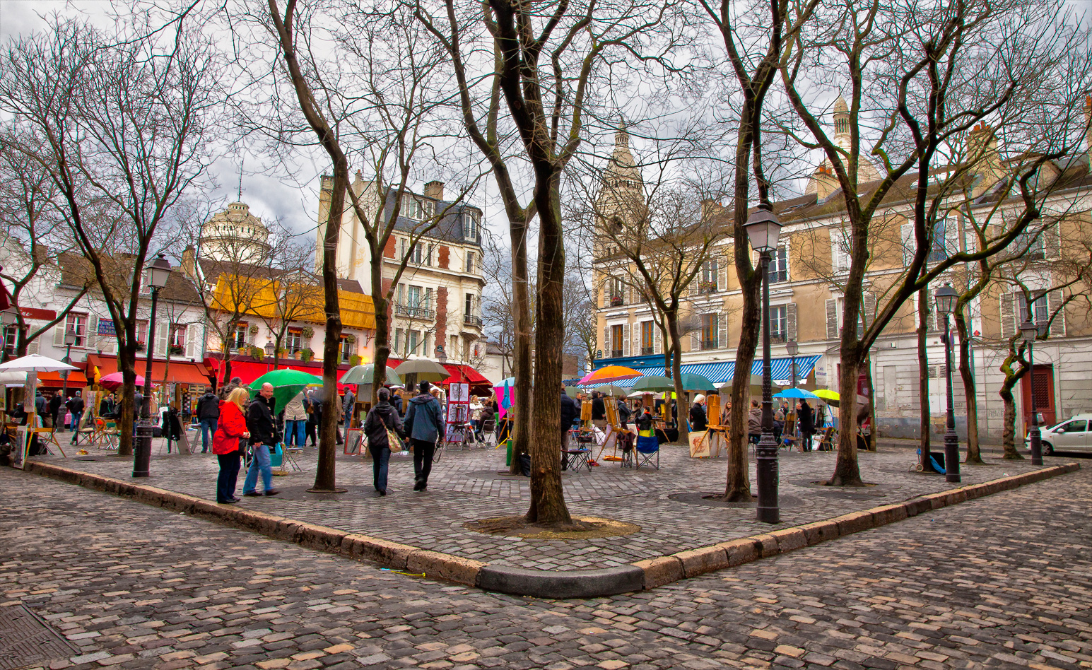 Montmarte - the artists place